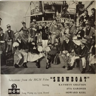 "V/A ‎- Selections From The MGM Film Showboat (10"" LP) (EX/G)"